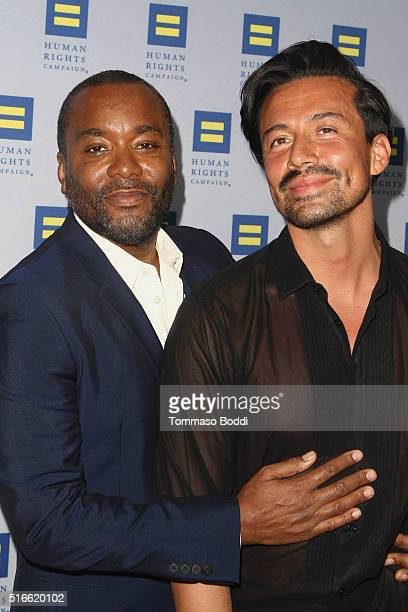 Producer Lee Daniels and stylist Jahil Fisher attend the 7th Annual Unstoppable Foundation Gala held at the JW Marriott Los Angeles at LA LIVE on...