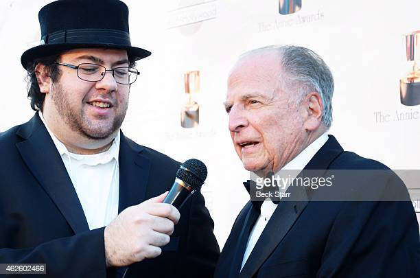 Producer Lee Mendelson arrives at the 42nd Annual Annie Awards at Royce Hall on the UCLA Campus on January 31 2015 in Westwood California