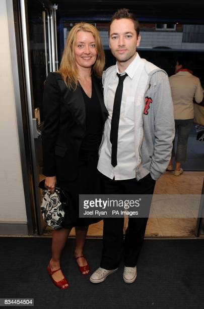 Producer Lene Bausager and director Sean Ellis arrive for the VIP Screening of Cashback directed by Sean Ellis at the Odeon Covent Garden in central...