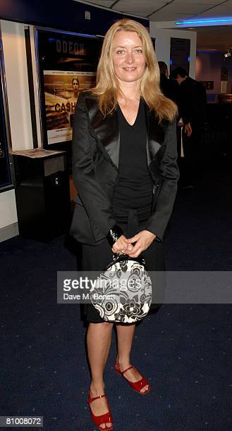 Producer Lene Bausager arrives at the preview screening of Cashback at Odeon Covent Garden on May 6 2008 in London England