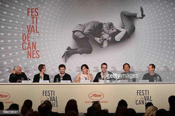 Producer Lene Borglum actor Matthew Newman actress Kristin Scott Thomas director Nicolas Winding Refn Vithaya Pansringarm and musician Cliff Martinez...