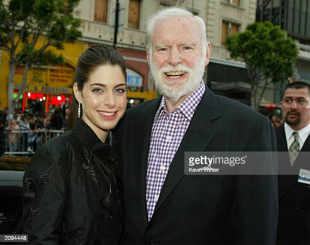 Producer Leonard and associate producer Amanda Goldberg attend the premiere of Columbia Pictures' film Charlie's Angels 2 Full Throttle at the...