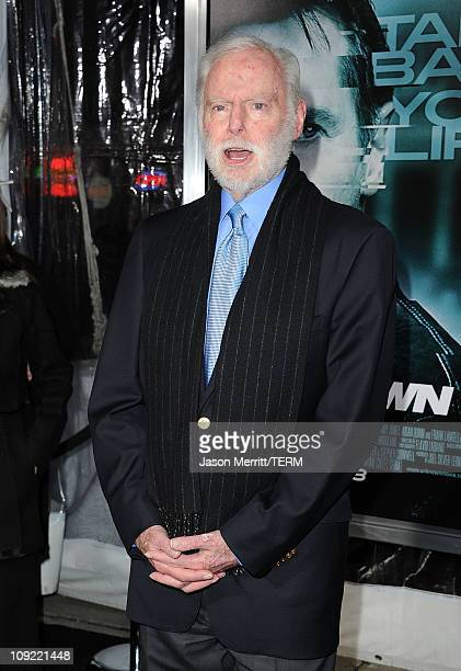 Producer Leonard Goldberg arrives at the Los Angeles premiere of Unknown at the Mann Village Theater on February 16 2011 in Westwood California