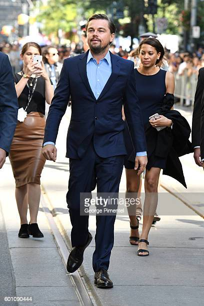 """Producer Leonardo DiCaprio attends the """"Before the Flood"""" premiere during the 2016 Toronto International Film Festival at Princess of Wales Theatre..."""