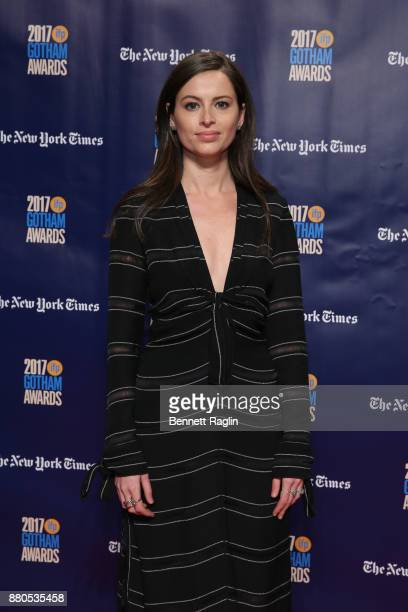 Producer Lilly Burns attends the 2017 Gotham Awards sponsored by Greater Ft Lauderdale Tourism at Cipriani Wall Street on November 27 2017 in New...
