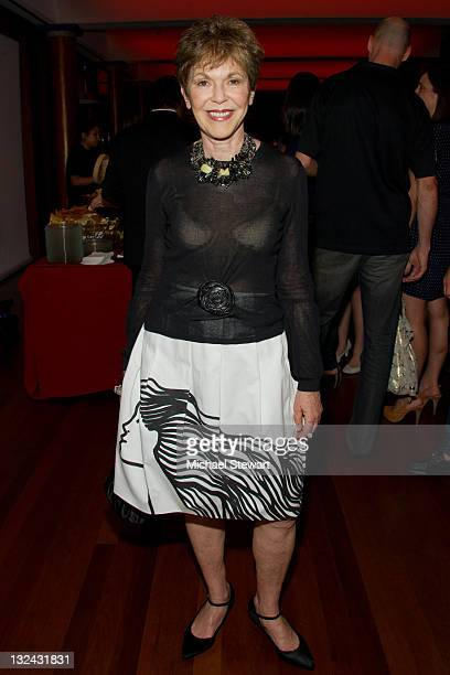 Producer Linda Gottlieb attends the Mother Teresa CEO Book launch party at Rubin Museum of Art on July 13 2011 in New York City