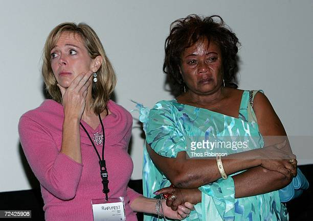 Producer Linda Vester and Imaculee Mukanyonza at the World Premiere of Back Home during AFI FEST 2006 presented by Audi held at the LOFT at Arclight...