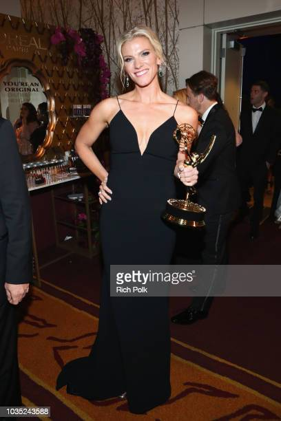 Producer Lindsay Shookus winner of Outstanding Variety Sketch Series for 'Saturday Night Live' attends IMDb LIVE After The Emmys 2018 on September 17...