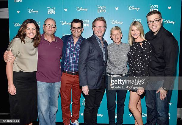 Producer Lindsey Collins actors Ed O'Neill Ty Burrel director Andrew Stanton actresses Ellen DeGeneres and Kaitlin Olson and director Angus MacLane...