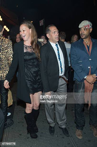 "Producer Lisa Brubaker, Steve Lewis and Director Ramon Fernandez attend the ""Glory Daze: The Life and Times of Michael Alig"" New York Premiere at The..."