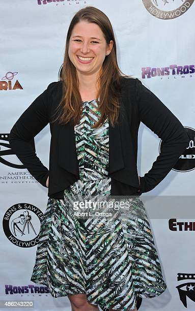 Producer Lisa Gollobin arrives for the Etheria Film Night 2015 held at American Cinematheque's Egyptian Theatre on June 13, 2015 in Hollywood,...
