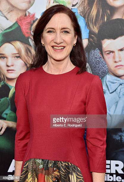 Producer Lisa Henson attends The World Premiere of Disney's Alexander and the Terrible Horrible No Good Very Bad Day at the El Capitan Theatre on...
