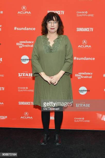 Producer Lisa Janssen attends the 'Hal' Premiere during the 2018 Sundance Film Festival at The Marc Theatre on January 22 2018 in Park City Utah