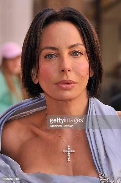 Producer Lisa Maria Falcone attends the American Ballet Theatre opening night Spring Gala at Lincoln Center on May 13 2013 in New York City