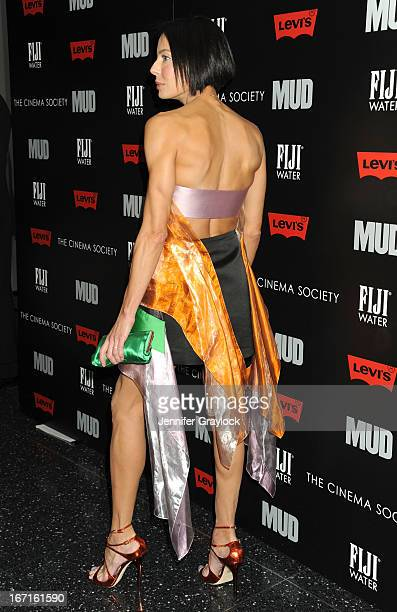 Producer Lisa Maria Falcone attends The Cinema Society screening Of Mud held at The Museum of Modern Art on April 21 2013 in New York City