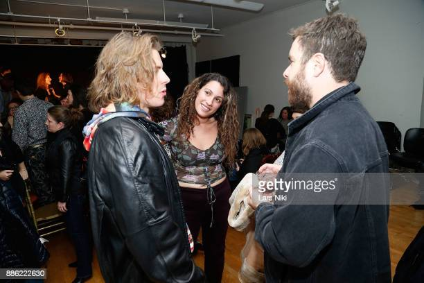Producer Lizzie Shapiro attends The Hamptons International Film Festival's Screenplay Reading of Mickey and the Bear at The Actors Company Theater on...