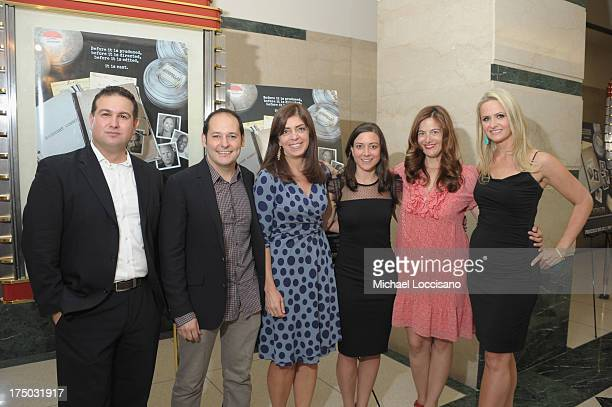 Producer llan Arboleda Director Tom Donahue SVP of HBO Documentary Films Nancy Abraham Editor Jill Donahue and Producers Joanna Colbert and Kate...