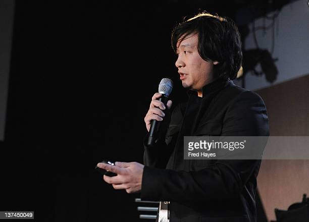 Producer Loc Dao attends the Bear 71 Launch Event during the 2012 Sundance Film Festival at New Frontier on January 20 2012 in Park City Utah