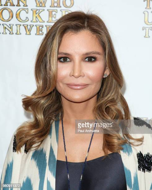 Producer Lola Tillyaeva attends the premiere of The Man Who Unlocked The Universe on June 21 2018 in West Hollywood California