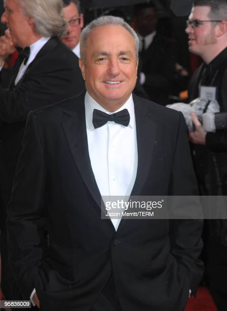 Producer Lorne Michaels arrives at the 67th Annual Golden Globe Awards held at The Beverly Hilton Hotel on January 17 2010 in Beverly Hills California
