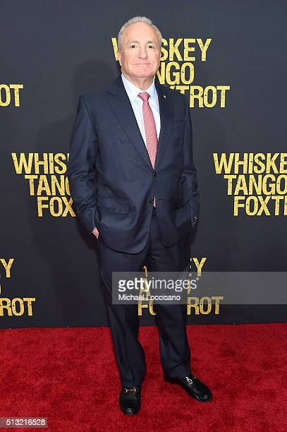 Producer Lorne Michaels attends the Whiskey Tango Foxtrot world premiere at AMC Loews Lincoln Square 13 theater on March 1 2016 in New York City
