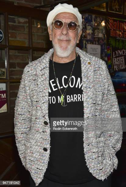Producer Lou Adler poses for portrait at the Key to The City of West Hollywood Award Ceremony at The Roxy Theatre on April 16 2018 in West Hollywood...