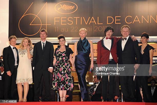 Producer Luc Roeg guest Rory Stewart Kinnear director/writer Lynne Ramsay Tilda Swinton Ezra Miller John C Reilly and his wife Alison Dickey attend...