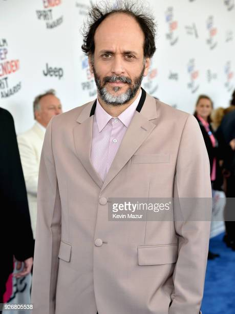 Producer Luca Guadagnino attends the 2018 Film Independent Spirit Awards on March 3 2018 in Santa Monica California