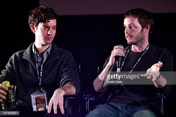 Producer Lucas Joaquin and Director of Photography Ben Richardson attend the Eastman Kodak Panel during the 2012 Sundance Film Festival at New...