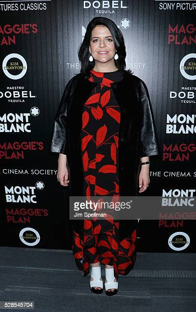 Producer Lucy Barzun Donnelly attends the screening of Sony Pictures Classics' Maggie's Plan hosted by Montblanc and The Cinema Society with Mastro...