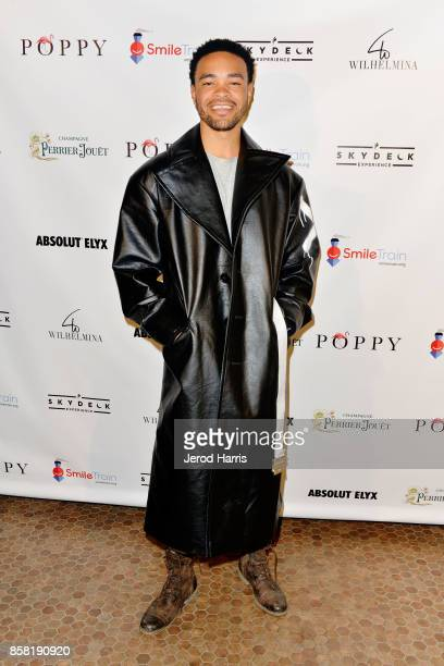 Producer Maejor attends Smile Train Celebrates World Smile Day at Poppy on October 5 2017 in Los Angeles California