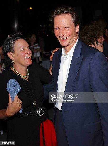 """Producer Maggie Renzi and actor Chris Cooper attend the after party for the Los Angeles Premiere of """"Silver City"""" at the Arclight Cinerama Dome on..."""