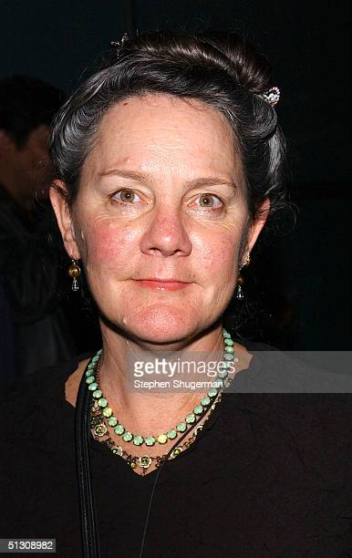 """Producer Maggie Renzi attends the after party for the Los Angeles Premiere of """"Silver City"""" at the Arclight Cinerama Dome on September 14, 2004 in..."""