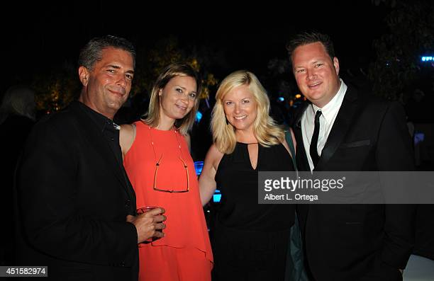 Producer Malek Akkad actress Kristina Klebe and guests attend the After Party for the 40th Annual Saturn Awards held at on June 26 2014 in Burbank...