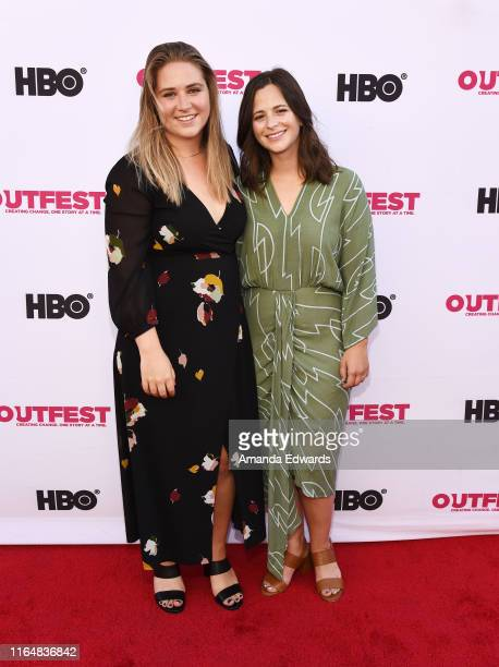 Producer Mallory Schwartz and Lauren Pietra arrive at the 2019 Outfest Los Angeles LGBTQ Film Festival Closing Night Gala Premiere of Before You Know...
