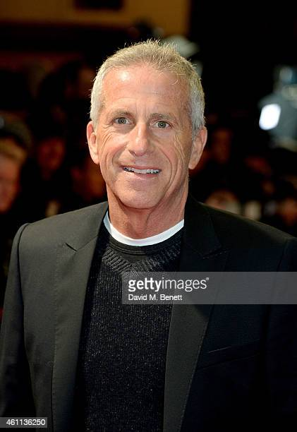 """Producer Marc Platt attends the """"Into The Woods"""" gala screening at The Curzon Mayfair on January 7, 2015 in London, England."""