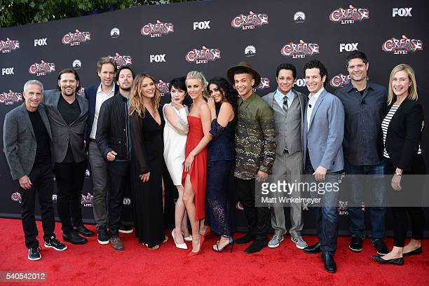 Producer Marc Platt choreographer Zachary Woodlee production designer David Korins actors/singers Andrew Call Kether Donohue Carly Rae Jepsen...