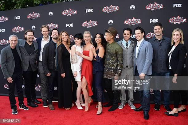 Producer Marc Platt choreographer Zachary Woodlee production designer David Korins actors/singers Andrew Call Kether Donohue Carly Rae Jepsen...