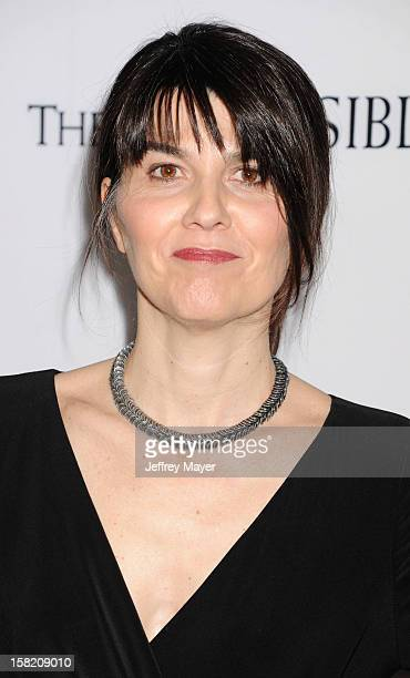 Producer Maria Belon arrives at the 'The Impossible' - Los Angeles Premiere at ArcLight Cinemas Cinerama Dome on December 10, 2012 in Hollywood,...