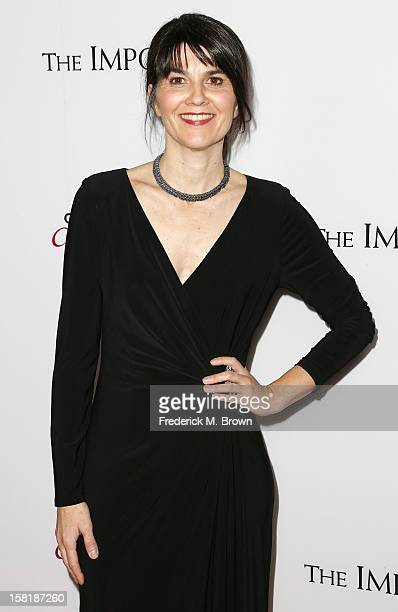 Producer Maria Belon attends the Premiere Of Summit Entertainment's The Impossible at the ArcLight Cinerama Dome on December 10 2012 in Hollywood...