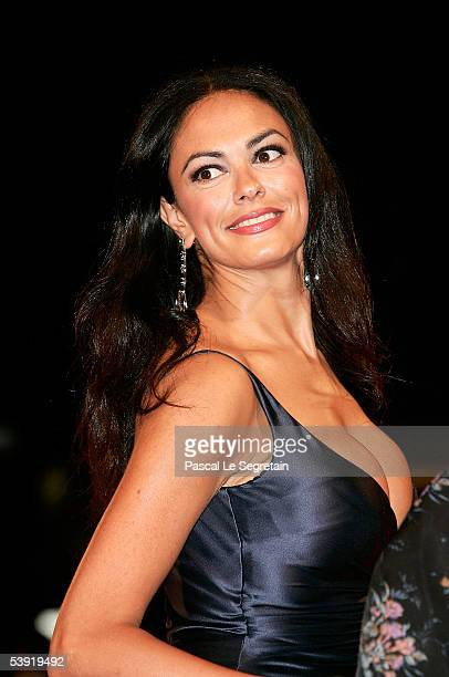Producer Maria Grazia Cucinotta arrives at the premiere for All The Invisible Children at the Palazzo del Cinema as part of the 62nd Venice Film...