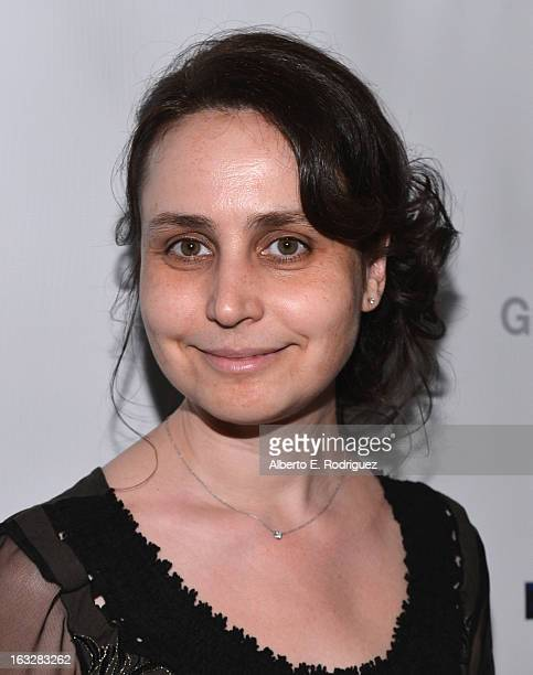 Producer Marianna Yarovskaya attend a screening of 1 Earth Productions' Greedy Lying Bastards at Harmony Gold Theatre on March 6 2013 in Los Angeles...