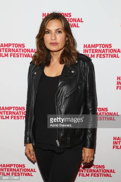 Producer Mariska Hargitay attends the red carpet for I Am Evidence during Hamptons International Film Festival 2017 Day Four on October 8 2017 in...