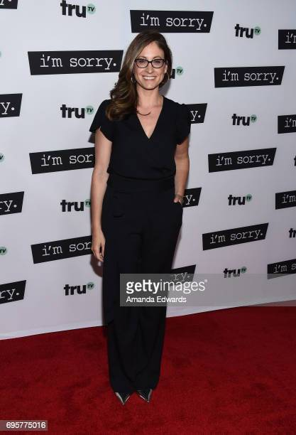 Producer Marissa Ronca arrives at the premiere of truTV's 'I'm Sorry' at the SilverScreen Theater at the Pacific Design Center on June 13 2017 in...