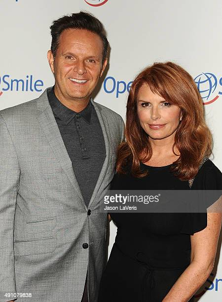 Producer Mark Burnett and actress Roma Downey attend Operation Smile's 2015 Smile Gala at the Beverly Wilshire Four Seasons Hotel on October 2, 2015...