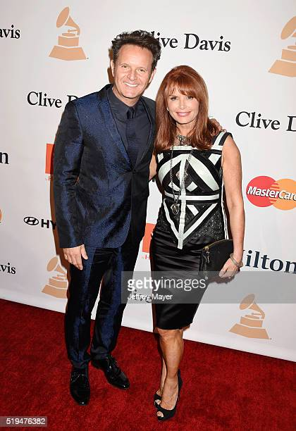 TV producer Mark Burnett and actress Roma Downey attend the 2016 PreGRAMMY Gala and Salute to Industry Icons honoring Irving Azoff at The Beverly...