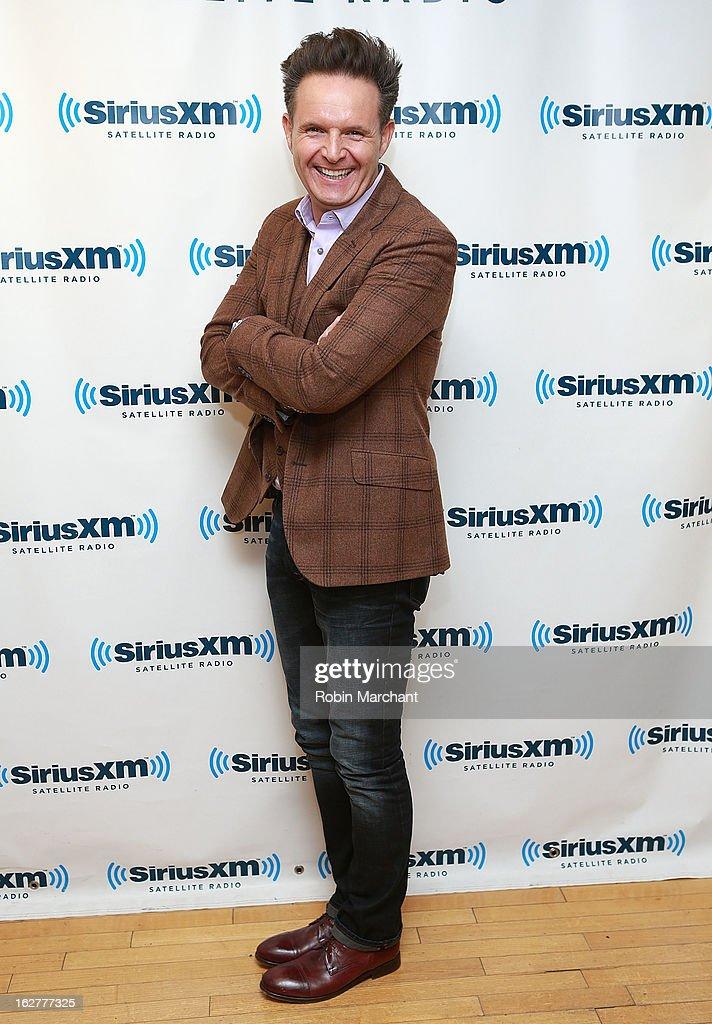 Producer Mark Burnett visits at SiriusXM Studios on February 26, 2013 in New York City.