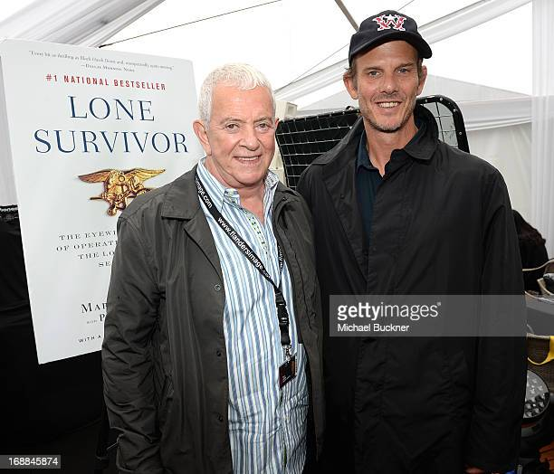 Producer Mark Damon and director Peter Berg attends the Torch Cannes Lone Survivor Breakfast during The 66th Annual Cannes Film Festival at Torch...