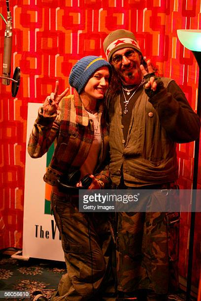 Producer Mark Hudson and musical artist Gwen Stefani pose for a portrait to promote the Tsunami relief charity single a cover of the Sir Eric Clapton...