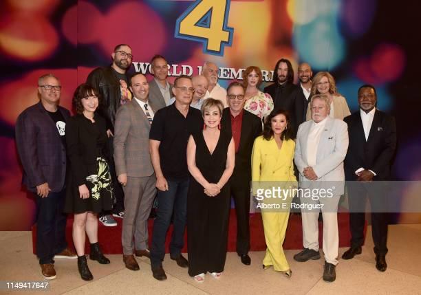 Producer Mark Nielsen Kristen Schaal Director Josh Cooley Tony Hale Producer Jonas Rivera Tom Hanks Annie Potts Wallace Shawn John Ratzenberger Tim...